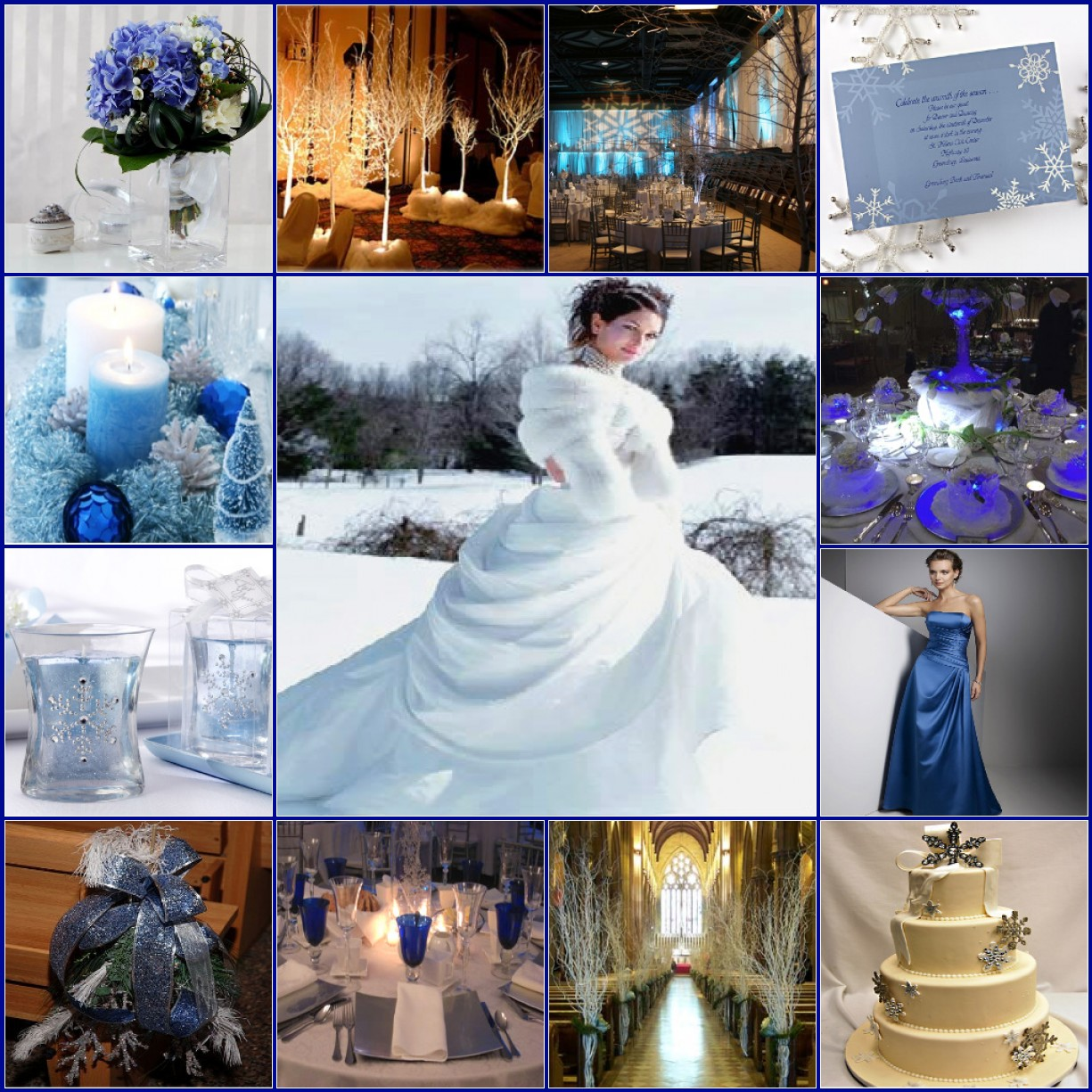 Winter wedding ideas blackhorseinnblog for What are wedding themes
