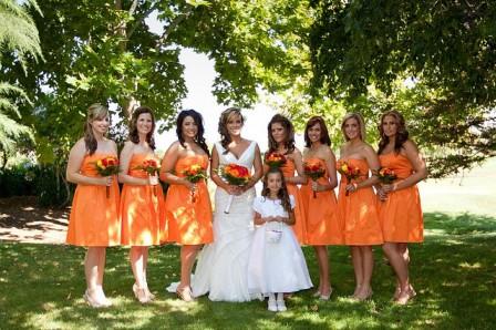 black-orangedress