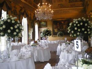 brockett hall wedding decor