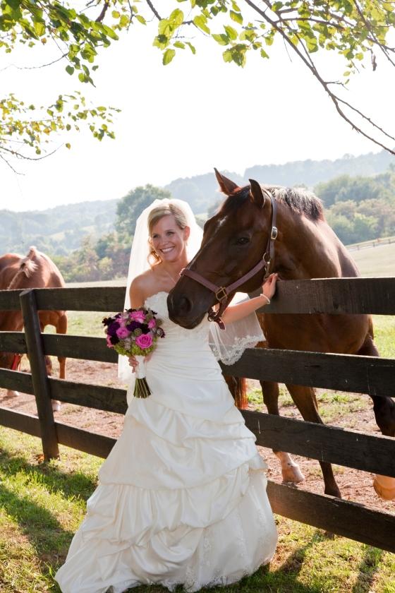 Bride and Houston
